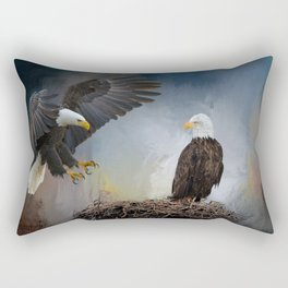 Eagles Nest Rectangular Pillow