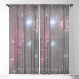 Horsehead Nebula Sheer Curtain