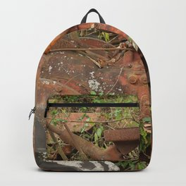 Old Red Tractor Backpack