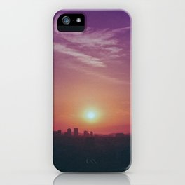 City Sunsets iPhone Case