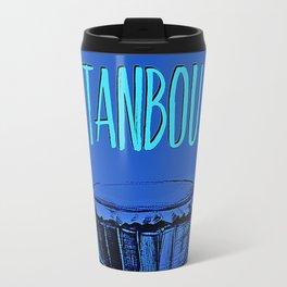 Tanbou(blue) Travel Mug