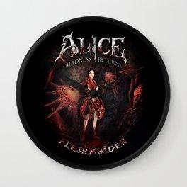 Alice Madness Returns Fleshmaiden Game Wall Clock
