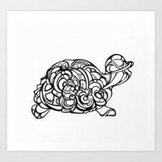 Dream Turtle Art Print