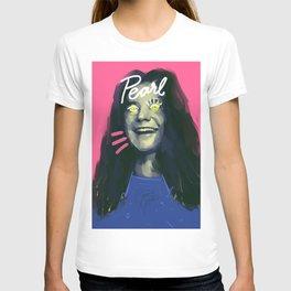 27 Janis, POP art portrait, digitally painted T-shirt