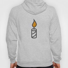 Candle in Design Fashion Modern Style Illustration Hoody
