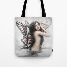 Bathing Pixie Tote Bag