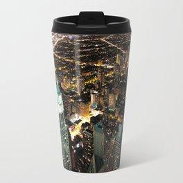 Chicago City Skyline Travel Mug