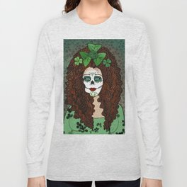 Caitriona Celebrates Samhain and the Day of the Dead Long Sleeve T-shirt