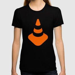 traffic  road cone safety pylon Whitc hat marker T-shirt
