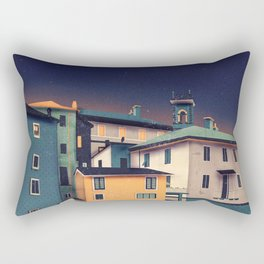 Castles at Night Rectangular Pillow