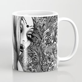 Tribal Foxy Coffee Mug