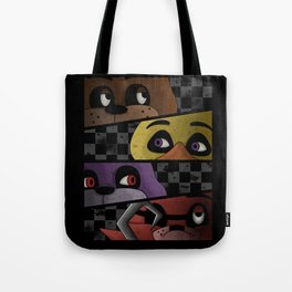 Freddy and Friends are Ready! Tote Bag