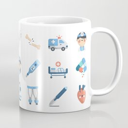 CUTE MEDICINE / SCIENCE / DOCTOR PATTERN Coffee Mug
