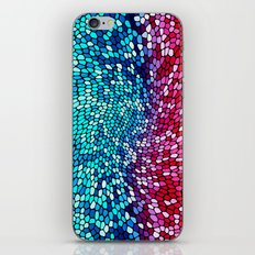 THINK TEAL AND PINK iPhone & iPod Skin