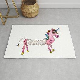 Slinky Unicorn Rug