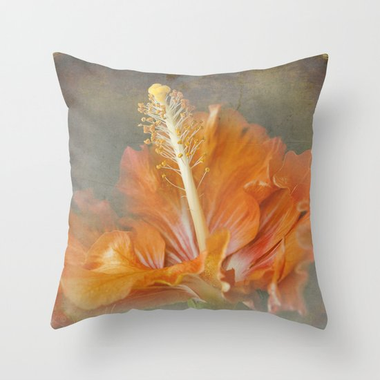 Winged Surprises Throw Pillow