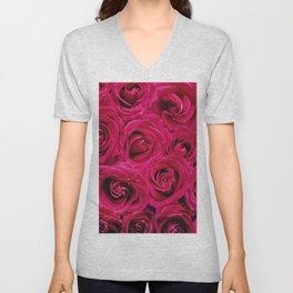 Rose Romance Unisex V-Neck