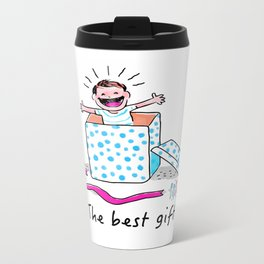 The best gift! Metal Travel Mug