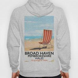 Broad Haven, Pembrokeshire,wales seaside Hoody
