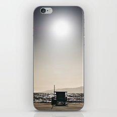Venice Beach California Guard Tower iPhone & iPod Skin