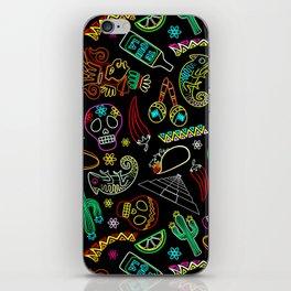 Mexico Fiesta Dia De Los Muertos iPhone Skin