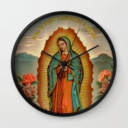 Reina de Mexico y Emperatriz de America Wall Clock