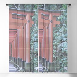 Inari Gates Galore Sheer Curtain