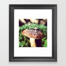 Mushroom Ballet Framed Art Print
