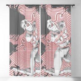 Vertigo ll. Sheer Curtain