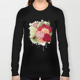 Full bloom | Ladybug carnation Long Sleeve T-shirt