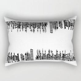 Cityscape 02 / Paysage Urbain 02 Rectangular Pillow