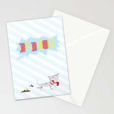 poo've got mail Stationery Cards