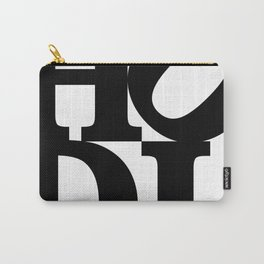 Hodl Logo - back on white - Hodl Bitcoin Meme Carry-All Pouch