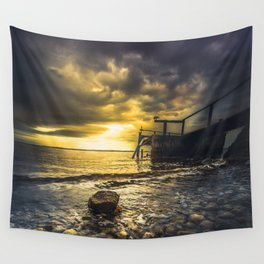 Man in the maze Wall Tapestry