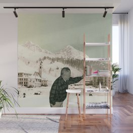The Painter Wall Mural