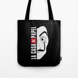 LA CASA DE PAPEL MASK Tote Bag