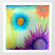 coronas Art Print