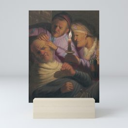 Touch Mini Art Print