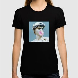 The Statue of David (Michelangelo) with Bubblegum T-shirt