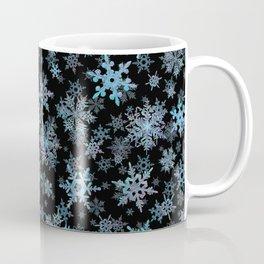 """""""Embroidered"""" Snowflakes Coffee Mug"""