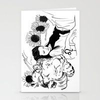 leo Stationery Cards featuring Leo by Cassandra Jean
