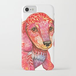 Mini Dachshund  iPhone Case