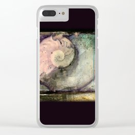 Organic Souls No. 1 by Kathy Morton Stanion Clear iPhone Case