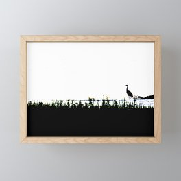 SILENCE Framed Mini Art Print