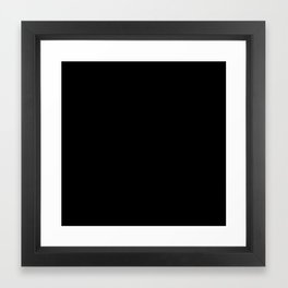Unless You Are Pizza Framed Art Print