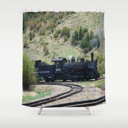 Durango&Silverton Engine 480 Shower Curtain