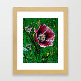 Opium Gum Remix Framed Art Print