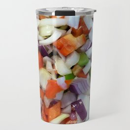 Onions and Bell Peppers Travel Mug