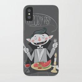 Vegan Vampire iPhone Case