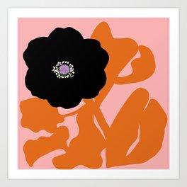 Clumsy Flower Art Print